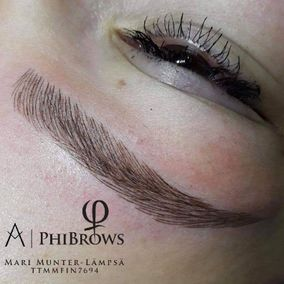 Kulmien microblading